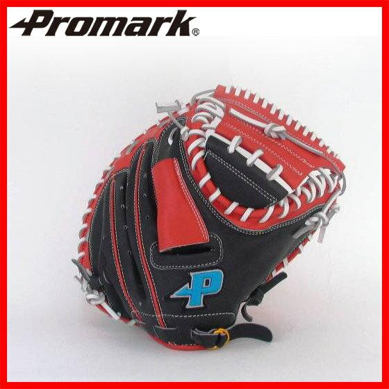 【PROMARK・プロマーク】 野球グローブ PCM-9783 野球グラブ 軟式野球 promark プロマーク 一般 軟式キャッチャーミット ブラック×レッドオレンジ 1005_flash 02P03Dec16