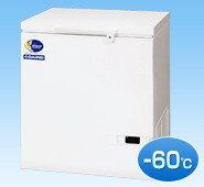 (株)ダイレイ 超低温(-60℃) チェスト型ストッカー DF-140D 133リットル スーパーフリーザー 鍵付き!冷凍庫