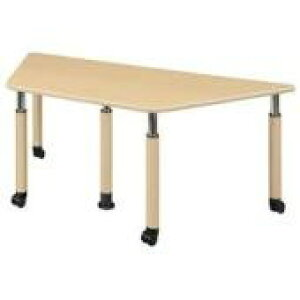 井上金庫 テーブル UFT-5T9018C Cタイプ 4本キャスター脚 W1800×D780×H596〜796(mm) 介護・福祉施設向け