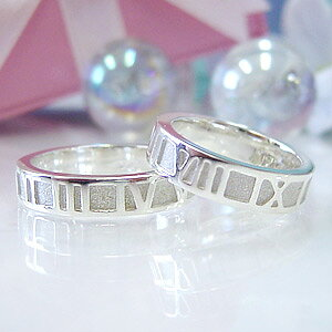"""刻印対応/ペア割引シルバー925 ペアリング """"Eternally""""結婚指輪・マリッジリング(173060_p)/楽ギフ_包装"""