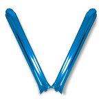 【スティックバルーン】メタルブルー【2本組】