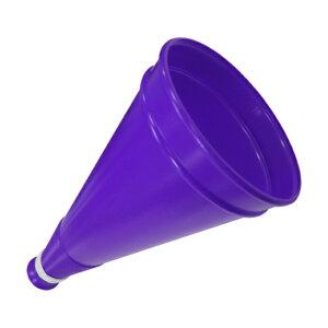 【新商品】プロモメガホン 紫 27cm 紐付き 壊れにくい日本製[応援用メガフォン 応援メガホン 応援グッズ 体育祭 運動会 甲子園 高校野球 バレーボール バスケットボール インターハイ 高校サ