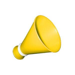 ミニメガホン 黄色 紐付き 日本製[応援用メガフォン 応援メガホン 応援グッズ 小さい スモールサイズ かわいい 甲子園 野球 バレー バスケットボール サッカー 体育祭 運動会 スポ少 楽天通
