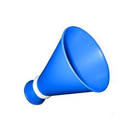 ミニメガホン 青色 応援[応援用メガフォン 応援メガホン 応援グッズ 小さい スモールサイズ かわいい 甲子園 野球 バレーボール バスケットボール サッカー 体育祭 運動会 スポ少 楽天通販 選挙 応援 スポーツ 大会 予選 本線 観戦 mini megaphone blue 青色 メガホン 通販]*