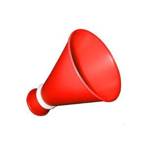 ミニメガホン 赤色 応援[応援用メガフォン 応援メガホン 応援グッズ 小さい スモールサイズ かわいい 甲子園 野球 バレーボール バスケットボール サッカー 体育祭 運動会 スポ少 楽天通販