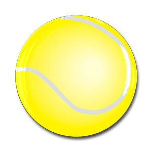 Φ31mm ドームシール テニス 1個付[テニスボール シール ステッカー 手帳用 テニスグッズ テニス用品 グッズ 用品 雑貨 プレゼント ギフト プチギフト お返し お誕生日 お祝い 祝い 入学祝い