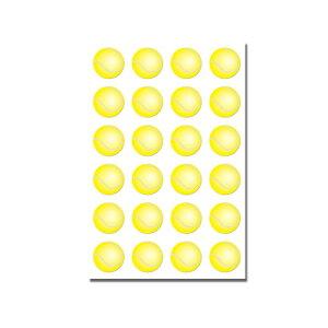 Φ10mmシール(紙) テニス 24個付[テニスボール シール ステッカー 手帳用 テニスグッズ テニス用品 グッズ 用品 雑貨 プレゼント ギフト プチギフト お返し お誕生日 お祝い 祝い 入学祝い 入