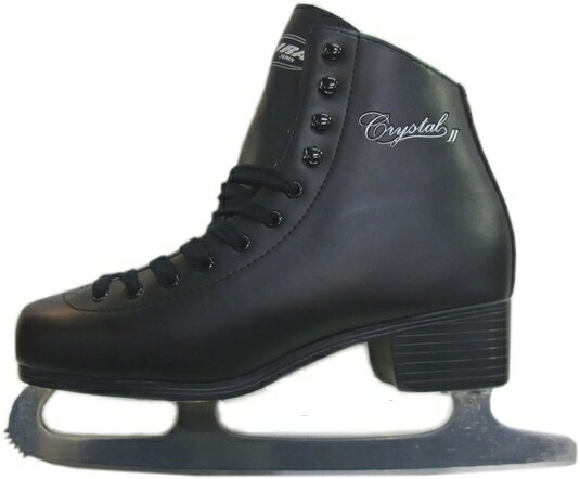 【期間限定特価】【初回研磨無料】ZAIRAS(ザイラス) フィギュアスケート靴 クリスタル2 CRYSTAL FIGURE SKATES F-120(F-130) メンズ ブラック(黒)(UP_SK)
