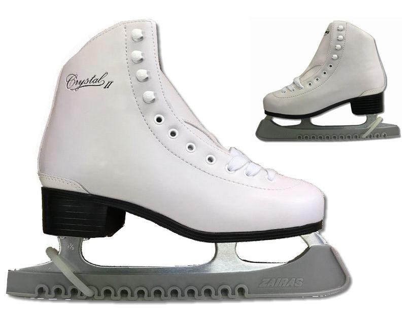【期間限定特価】【初回研磨無料】ZAIRAS(ザイラス) フィギュアスケート靴 クリスタル2 CRYSTAL2 FIGURE SKATES (F-130)  ホワイト(白)(UP_SK)