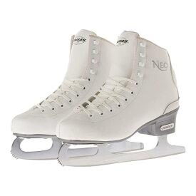 【初回研磨無料】ZAIRAS(ザイラス) フィギュアスケート靴 NEO F-350 ホワイト(白)