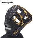 asics(アシックス) 一般硬式グラブ ゴールドステージ スピードアクセル 内野手用 右投げ用 (9127) BGHFSK