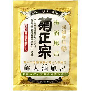 菊正宗 美人酒風呂梅酒風呂甘酸っぱく芳醇な梅酒の香り 60ml