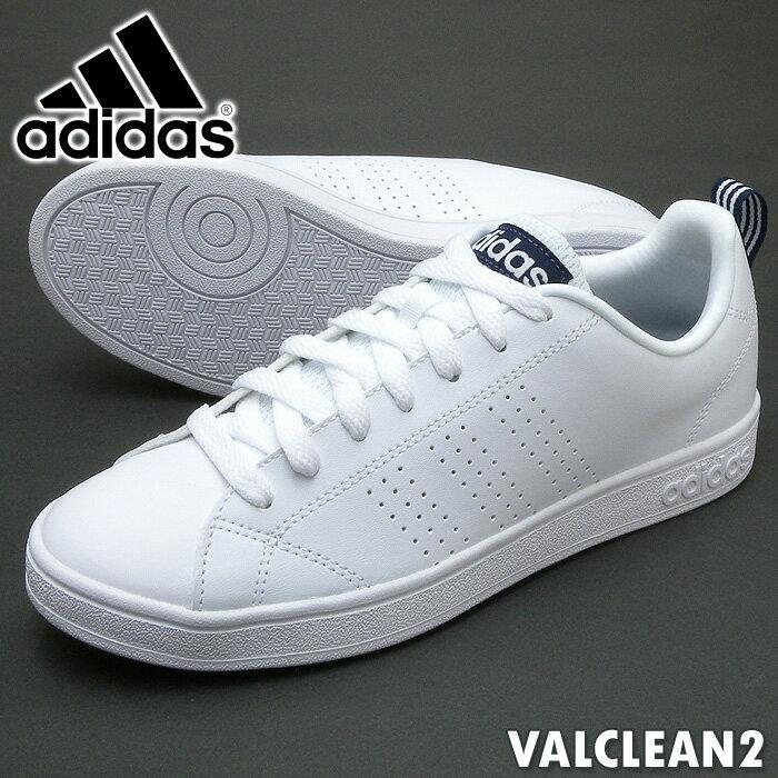 adidas VALCLEAN2 ホワイト/ブラック ユニセックス アディダス バルクリーン2