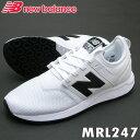 NBニューバランス スニーカー MRL247ホワイト(WB)靴幅:Dクラシックライフスタイル【送料無料】