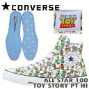 コンバース スニーカー ALL STAR 100 TOY STORY PT HI オールスター 100 トイ・ストーリー PT ハイカット マルチ