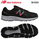NBニューバランス スニーカー W480ブラック(BK5)靴幅:4EレディースジョギングランニングシューズPSsale