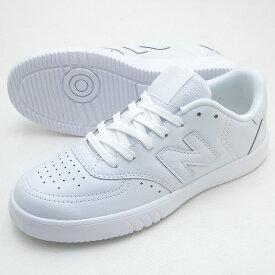 【小さめ】ニューバランス CT05 WT ホワイト 超軽量 男女兼用スニーカー 靴幅:D コート系 シューズ