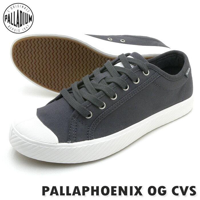 PALLADIUM パラディウムスニーカー PALLAPHOENIX OG CVS パラフェニックス OG キャンバス ASPHALT アスファルト(チャコールグレー) レディース PSsale