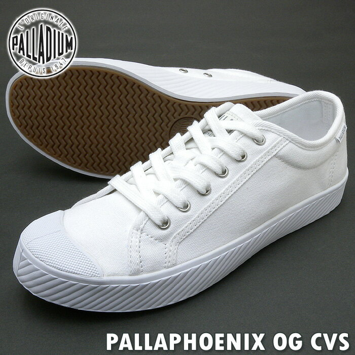 PALLADIUM パラディウムスニーカー PALLAPHOENIX OG CVS パラフェニックス OG キャンバス WHITE ホワイト レディース PSsale