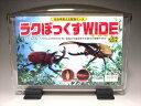 幼虫用見える観察ケースラクぼっくすWIDEワイド【ラクボックス】