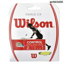 WILSON ウィルソン バドミントンガットフィアース CX LI WRR943400 ライム 30%OFF