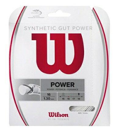 [楽天市場]WILSON(ウィルソン)テニスガットシンセティックガットパワー16SYNTHETICGUTPOWER1640%OFF