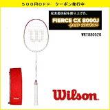 []WILSONウィルソンバドミントンラケットフィアースCX8000J-GOLDEDITION-松友美佐紀2012-2013スペック復刻版