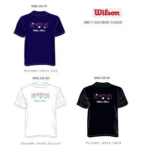 WILSON ウィルソン 数量限定 TシャツSMU T-Shirt BEAR CLASSIC 送料無料