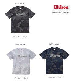 WILSON ウィルソン 数量限定 TシャツSMU T-Shirt CAMO T 送料無料