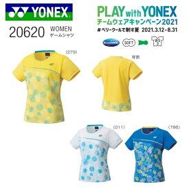 ヨネックス チームウェア キャンペーン2021 ゲームシャツ WOMEN 20620テニス バドミントン用 レディース