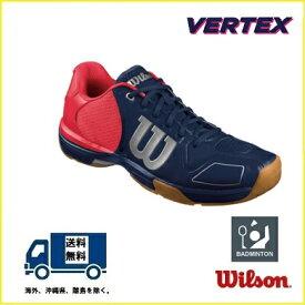 WILSON (ウィルソン) バドミントン シューズ  ヴェルテックス ネイビー VERTEX WRS321680