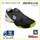 [網球·羽球專營商店puroshoppuyamano]供WILSON威爾遜網球鞋全紅土網球場使用的高峰專業SL 2.0 OC RUSH PRO SL 2.0 OC WRS323550