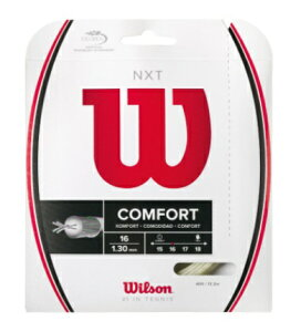 WILSON ウィルソン  テニスガットNXT1630%OFFセール WRZ942700
