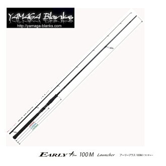 Yamaga blanks early (EARLY plus) 100 M Launcher