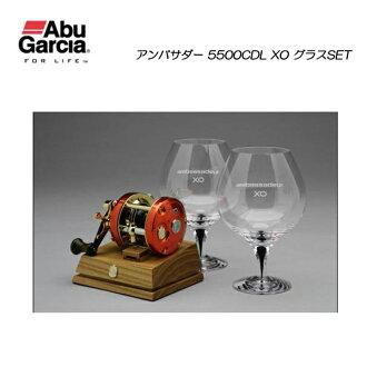 阿布 · 加西亚大使 5500 CDL XO 玻璃设置阿布