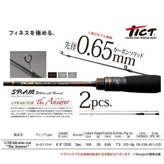 tikutosuramuarutimettochun UTR-68-TOR二答案Tict SRAM The Answer