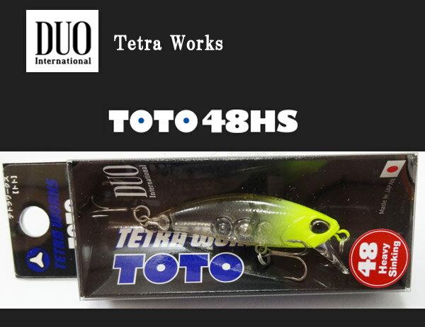 デュオ テトラワークス トト48HS CCC0243 クリアチャートヘッド 【メール便OK】
