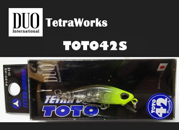 デュオ テトラワークス トト 42S #CCC0243 クリアチャートヘッド 【メール便OK】