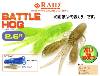2.6 inches of raid Japan battle Hogg