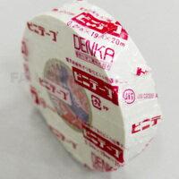 電気化学工業 絶縁ビニールテープ(白) 19mmX20m