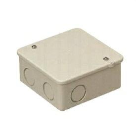 未来工業 PVKボックス 中形四角(浅型) ベージュ PVK-ANJ