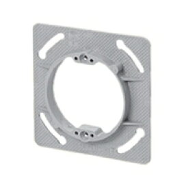未来工業 プラスチック製塗代カバー 中形四角用 丸型 塗代付 OF-11P バラ1個