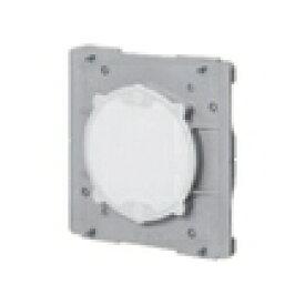 未来工業 プラスチック製塗代カバー ワンタッチタイプ 中形四角用 丸型 塗代付 OF-11PY 10個入