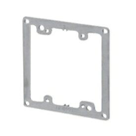 未来工業 プラスチック製塗代カバー 中形四角用 2個用 平 OF-12P2-F 10個入