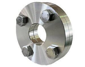 【フランジ・ボルト・ナットset】SUS304 穴あきフランジ JIS10K×25A 差し込み溶接式 スリップオン 溶接式フランジ(板フランジ) SOP-FF 1B