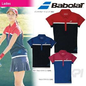【均一セール】『即日出荷』Babolat(バボラ)「Women's レディース ショートスリーブシャツ BAB-1741W」テニスウェア「FW」 「あす楽対応」[ポスト投函便対応]