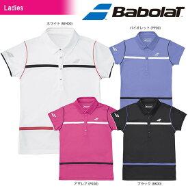 「あす楽対応」バボラ Babolat テニスウェア レディース SHORT SLEEVE SHIRT ショートスリーブシャツ BTWLJA16 「SS」[ポスト投函便対応] 『即日出荷』