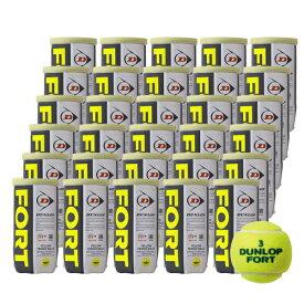【365日出荷】「あす楽対応」DUNLOP(ダンロップ)「FORT(フォート)[2個入]1箱(30缶/60球)」テニスボール 「フォート60周年キャンペーン対象」 『即日出荷』