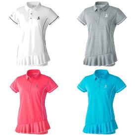 スリクソン SRIXON テニスウェア レディース ポロシャツ SDP-1021W 2020SS [ポスト投函便対応]