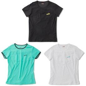 エレッセ Ellesse テニスウェア レディース SSパンチングシャツ EW00114 2020SS 4月発売予定※予約 [ポスト投函便対応]